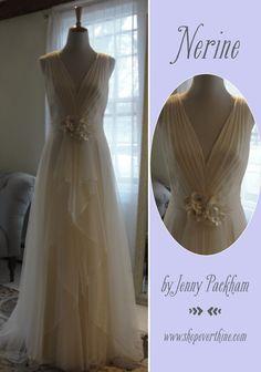 Elegant Nerine by Jenny Packham available at Everthine Bridal Boutique u a bridal shop serving Connecticut