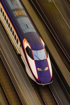Bullet train, Shinkansen, Japan