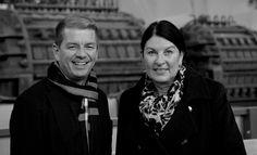Synergieeffekte erkennen - im Netzwerk austauschen und nutzen. Delia Bösch von der Stiftung Zollverein mit Hans Schriever, unserem Marketingverantwortlichen, stehen genau in diesem Austausch.