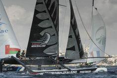 Emirates Team New Zealand gana el Acto 6 en Estambul