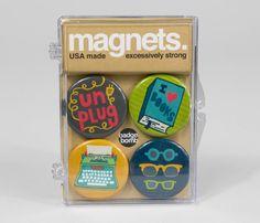 Bookworm Pack Magnet Set