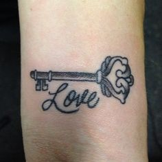 cute love tattoo design for girls on wrist tattoo design