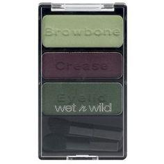 Wet Ν Wild Coloricon Trio (Τριπλή Σκιά) No 382 Συνδυασμός με τρεις σκιές ματιών ο οποίος σας βγάζει από τον κόπο τι χρώματα θα πρέπει να χρησιμοποιήσετε. Τονίστε το βλέμμα σας δημιουργώντας μοναδικούς συνδυασμούς και εκπληκτικά μακιγιάζ. Τιμή €5.99 Wet N Wild, Collection