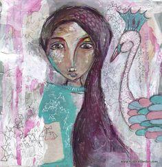 fine art print floral romantic irish art wall art by SiobhanJordan Irish Art, Painting & Drawing, Fine Art Prints, Owl, Romantic, Wall Art, Drawings, Floral, Illustration