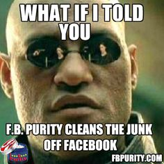 For a cleaner less annoying Facebook, Get FB Purity