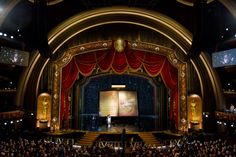 2012 Oscars stage design by John Myhre
