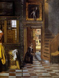 075[amolenuvolette.it]1663 pieter de hooch, l'armoire à linge, détail carrelage escalier jouet enfant.jpg (2538×3389)
