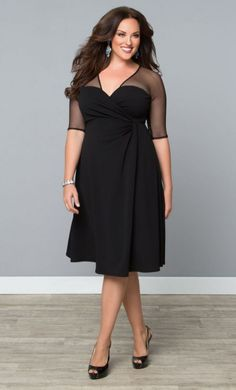 Sexy Plus size cocktail dress 5 best outfits - plussize-outfits.com