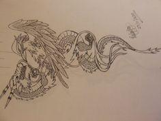 Phoenix And Dragon Drawing Dragon vs Phoenix Tattoo by Trendy Tattoos, Unique Tattoos, Small Tattoos, Cool Tattoos, Tatoos, Dragon Meaning, Dragon Tattoo Meaning, Confidence Tattoo, Phoenix Dragon