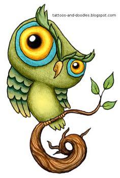 Owl Tattoo Flash | Sunday, September 11, 2011