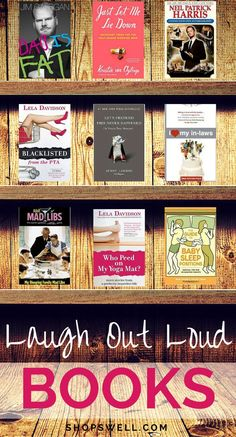 Looking for a laugh? These authors know how to entertain. Share these humorous books with a friend.