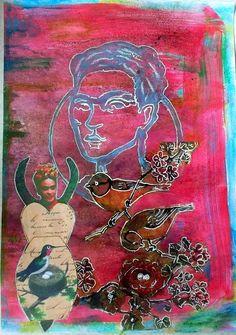Bastelmania: Frida new and old