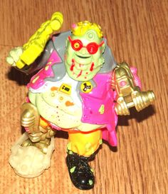 Vintage, PSYCHO Toxic Crusaders Action Figure Avenger , 1991, Troma - Rare by BunkysVintageCrafts on Etsy