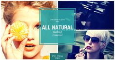 natural makeup removal - using essential oils! Hard to believe but it really works, check it out