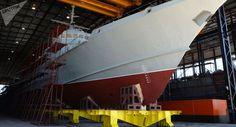 Noticia Final: Tufão dos mares: novo navio russo está pronto para...