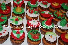 #Minicupcakes natale #Minicupcakes #Cupcakes natale #Christmas minicupcakes #Christmas cupcakes