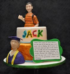 Legacy of Laughter - Cake by Laura Peterson #depressedcakeshop #legacyoflaughter