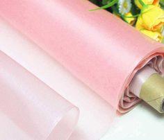 Pearl Pink 100% Real Silk Organza Fabric Natural Silk Material  (yza-11043-Yards) on Etsy, $6.50