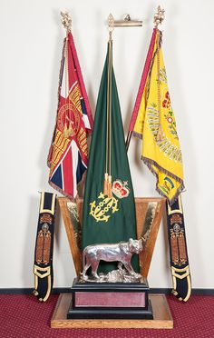 The Colours of The Princess of Wales's Royal Regiment | Army Tigers