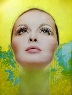 Revlon 'Moondrops' Demi Facecare Ad - detail, 1969