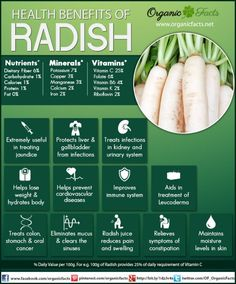 Stay Healthy with Radish