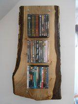 DVD Regal in Nußbaum