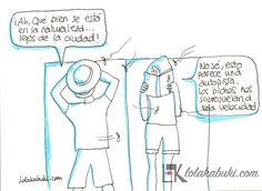 """LOLA & TXABI: SE ACERCA EL VERANO""  #humor, #ilustración #arte #pintura #dibujo"