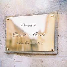 House founded in 1811 #PerrierJouet #heritage  #champagne