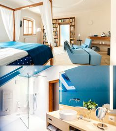 In the centre of the UNESCO World Heritage site Hallstatt lies the Hallstatt Hideaway with breathtaking views of Lake Hallstatt Hallstatt, The Good Place, Modern Design, In This Moment, Luxury, Bed, Furniture, Home Decor, Stream Bed