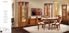 Firenze LivingRoom office www. Dream Furniture, Classic Furniture, Furniture Making, Oversized Mirror, Solid Wood, Living Room, Home Decor, Decoration Home, Room Decor