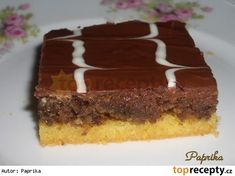 Czech Recipes, Nutella, Sweet Recipes, Food And Drink, Cooking Recipes, Treats, Cookies, Cake, Desserts