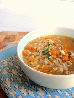 chicken & barley soup « milliemirepoix