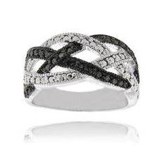 @Overstock.com - Black diamond accent braided design ringSterling silver jewelry Click here for ring sizing guidehttp://www.overstock.com/Jewelry-Watches/Sterling-Silver-Black-Diamond-Accent-Braided-Design-Ring/5634840/product.html?CID=214117 $19.79