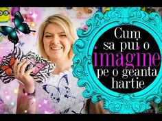 Cum sa pui o imagine pe o geanta de hartie - YouTube