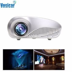 Mini Home Multimedia Cinema LED Projector HD 1080P Support