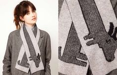 UK $61.00 The Donna Wilson dog scarf on ASOS.
