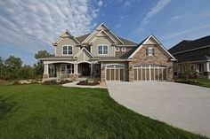 <ul><li>Beautiful Craftsman detailing makes this home a delight to look at.</li><li>A wide foyer has a built-in bench and walk-in coat closet - wonderful features!</li><li>The open floor plan combines views of four rooms, from the dining room to the kitchen to the two-story great room to the sunny dinette.</li><li>When you want some alone time, the hearth room or study are both close by.</li><li>Charming window se...