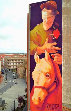 Top 5 Graffiti Street Art from April 2014 - INTI in Quintanar de la Orden, Spain