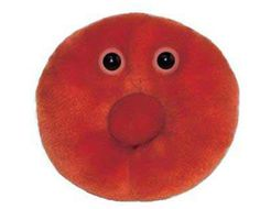 Red Blood Cell - The life of the party, his best trick is to hold his breath until he turns blue! Invite him to your next bash and he's sure show you a bloody good time.