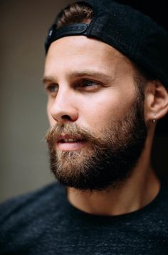 Yann Great Beards, Awesome Beards, Different Beard Styles, Beard Haircut, Beard Boy, Clean Shaven, Rugged Look, Beard Care, Cute Guys