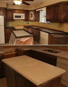 Amazing DIY Concrete Countertops How To Make Concrete Countertop