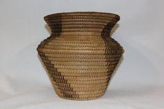 Pima Basket : Native American Pima Olla Basket 174