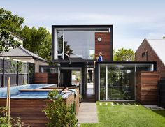 THAT House by Austin Maynard Architects, Melbourne — urdesignmag Australian Architecture, Interior Architecture, Computer Architecture, Australian Homes, Residential Architecture, Architects Melbourne, Huge Houses, Box Houses, Tiny Houses