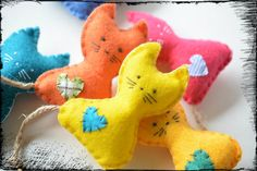 Charity Catnip Toy  Cat Toys  Felt Toy for by WorkshopOfOddities