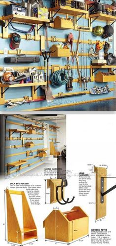 Modular Garage Storage Plans - Workshop Solutions Projects, Tips and Tricks | WoodArchivist.com