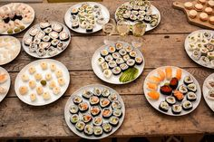 [Homemade] Christmas Sushi Buffet #food #foodporn #recipe #cooking #recipes #foodie #healthy #cook #health #yummy #delicious