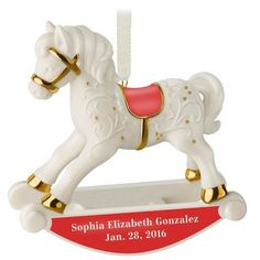 babys first rocking horse personalized ornament baby first christmas ornament babies first christmas christmas