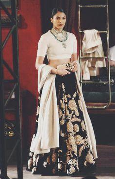 Sabyasachi Mukherjee - India Couture Week lehenga 2014