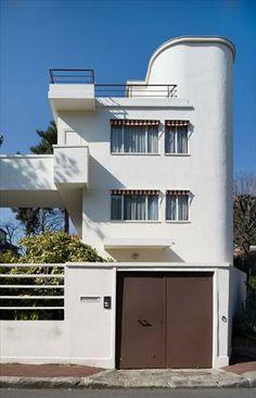 Le Corbusier – Charles-Édouard Jeanneret-Gris (1887-1965)   Villas Lipchitz-Miestchaninoff   Boulogne-sur-Seine, France   1923