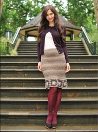 This crocheted skirt will wow all your friends! You can find the pattern in Love of Crochet.